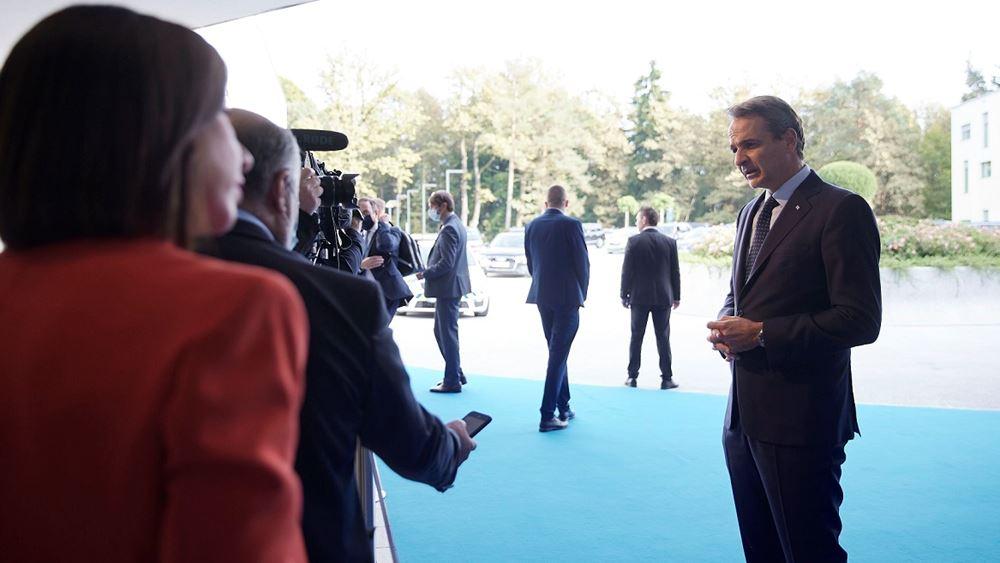Κ. Μητσοτάκης: Ήρθε η ώρα η ΕΕ να λάβει ξεκάθαρες δεσμεύσεις για τα Δ. Βαλκάνια