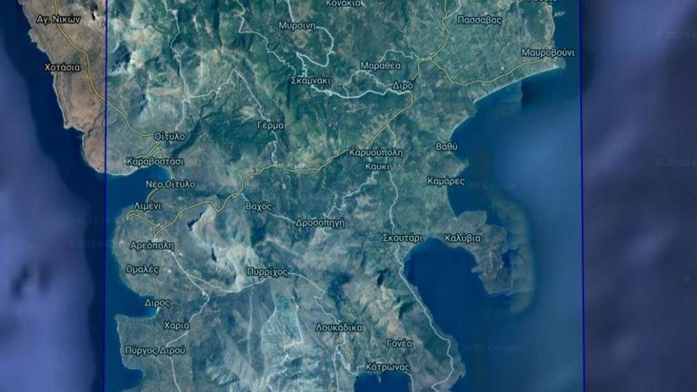 """Ενεργοποιείται ο """"Copernicus"""" για τη χαρτογράφηση της πληγείσας από την πυρκαγιά περιοχής στην Ανατολική Μάνη"""