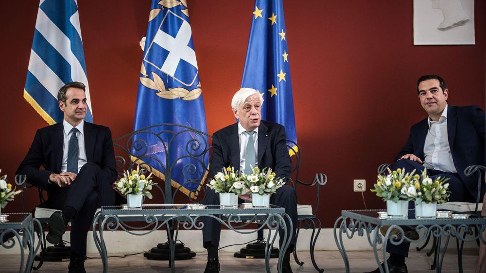 Μήνυμα Παυλόπουλου για Κυπριακό, Μάτι, Χρυσή Αυγή από τη δεξίωση στο Προεδρικό