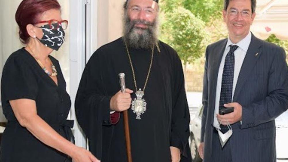 Παγκρήτια Τράπεζα: Δωρεά σχολικών ειδών στην Ιερά Αρχιεπισκοπή Κρήτης