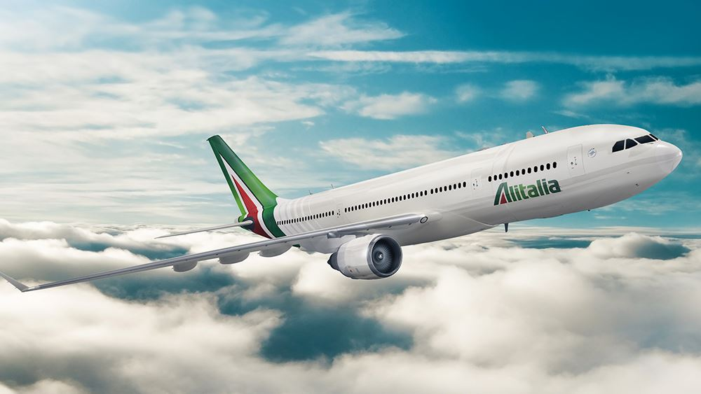 Alitalia: Δεύτερη πιο συνεπής αεροπορική στην Ευρώπη το 2018