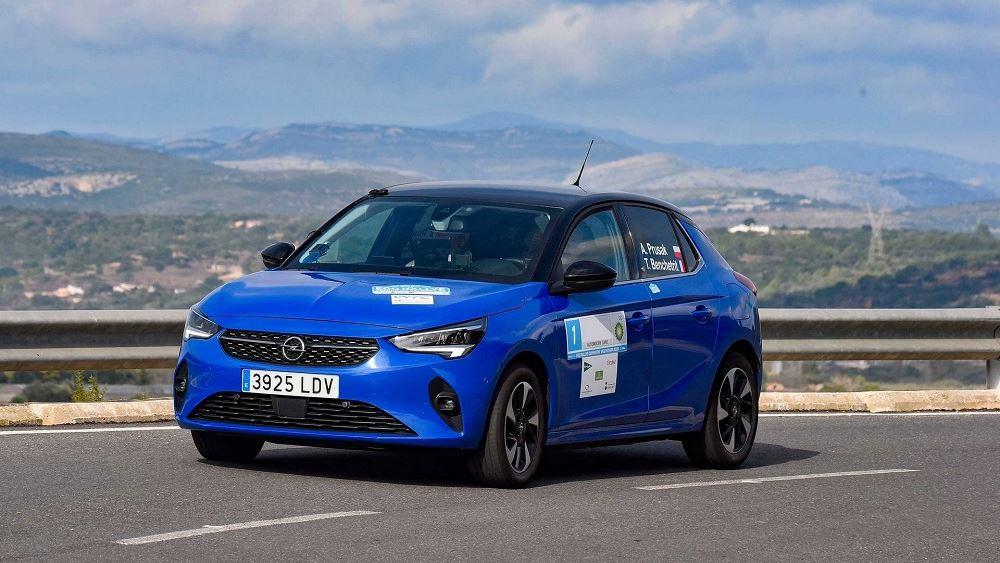 Το Opel Corsa-e κατακτά το 2020 FIA E-Rally Regularity Cup