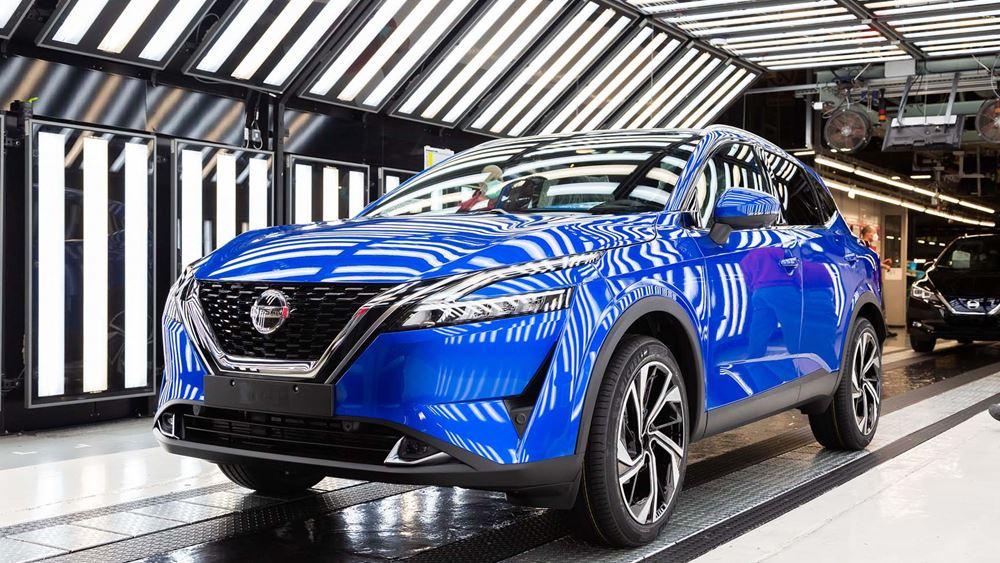 Ξεκίνησε η παραγωγή του νέου Nissan Qashqai