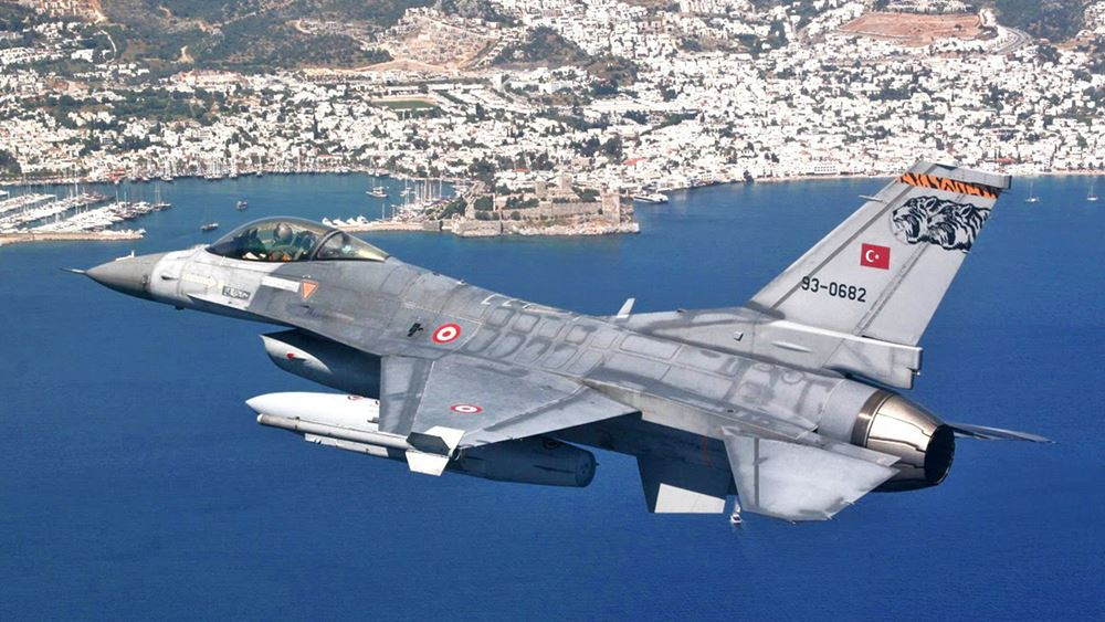 Νέες τουρκικές παραβιάσεις του ελληνικού εναέριου χώρου