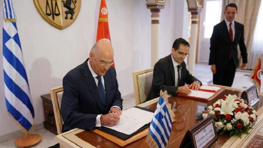 Υπεγράφη ηΣυμφωνία Θαλασσίων Μεταφορών μεταξύ Ελλάδας - Τυνησίας