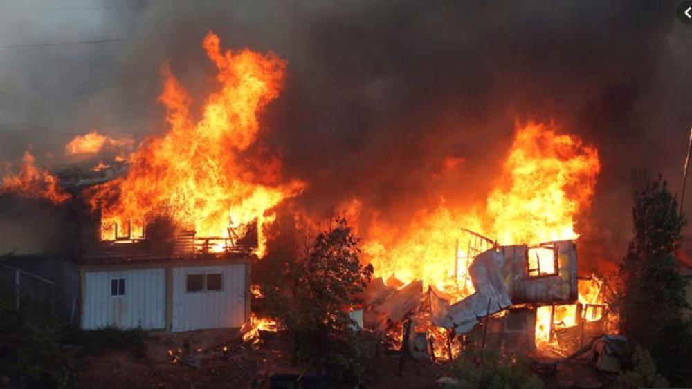 Χιλή: Πυρκαγιά κατέστρεψε 150 σπίτια στο Βαλπαραΐσο