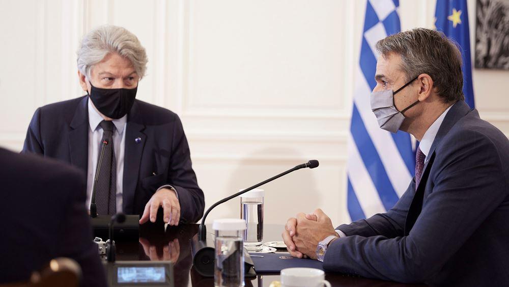 Κ. Μητσοτάκης: H πρόκληση είναι να πείσουμε τους πολίτες να εμβολιαστούν
