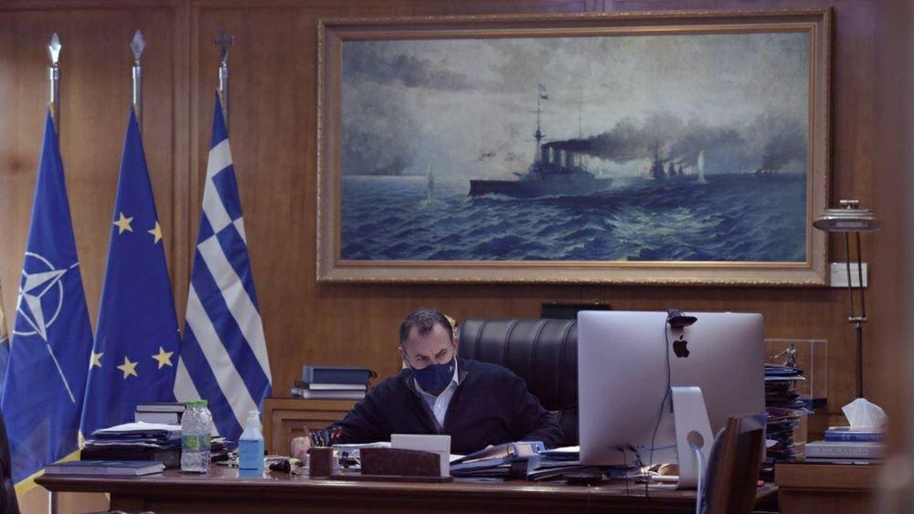 Σε προληπτική καραντίνα παραμένει ο υπουργός Εθνικής Άμυνας, Ν. Παναγιωτόπουλος