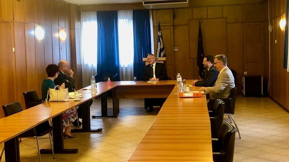 Συνάντηση Βορίδη με τον Πρέσβη του Ισραήλ για στενότερη συνεργασία στον αγροτοδιατροφικό τομέα