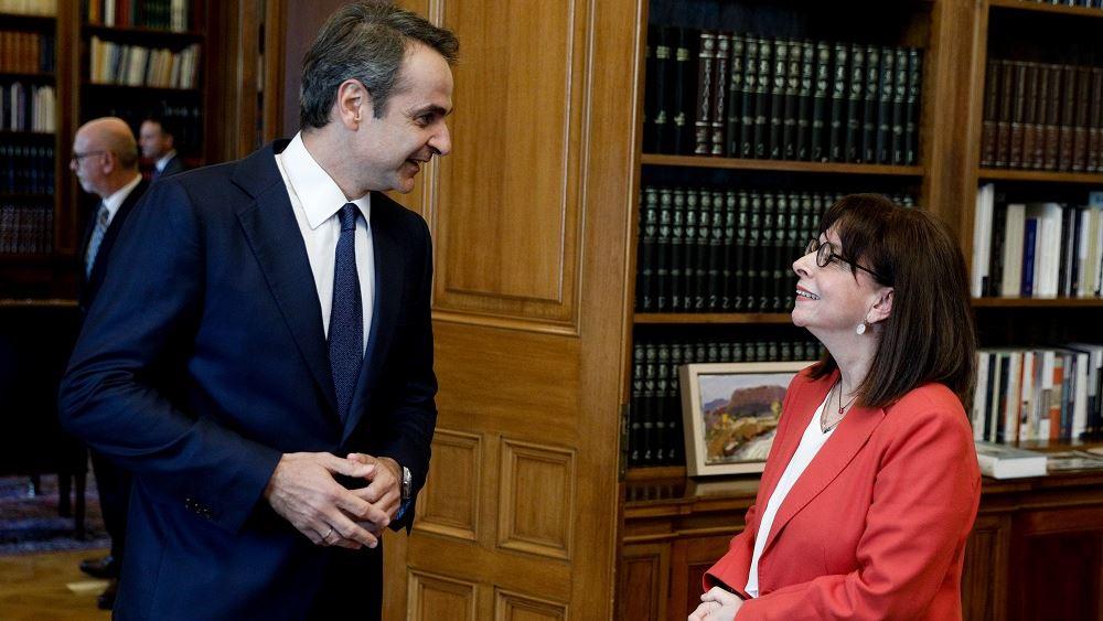 Κ. Μητσοτάκης: Θα αντιμετωπίσουμε όλες τις προκλήσεις, με προσήλωση στο Διεθνές Δίκαιο