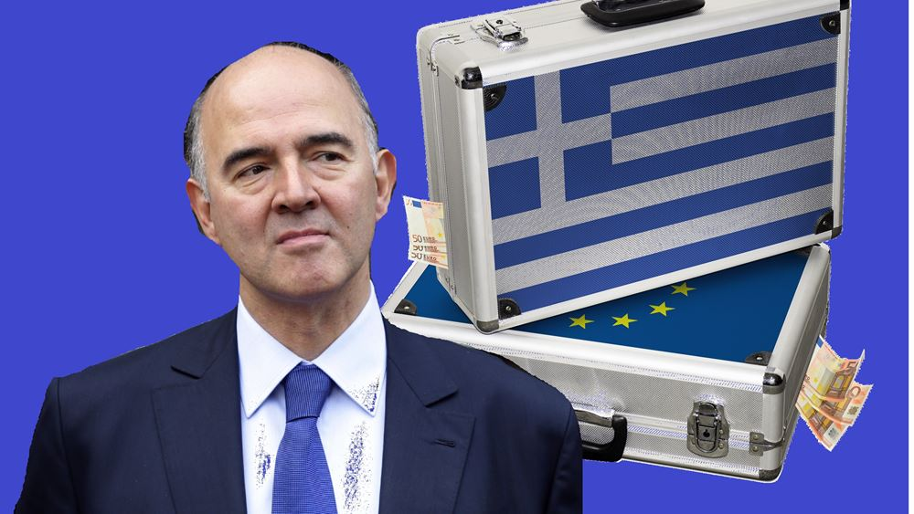 Moscovici: Είμαι αισιόδοξος ότι η Ελλάδα θα τα καταφέρει
