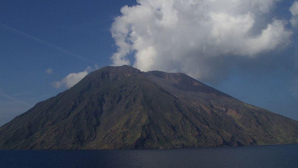 Ιταλία: Ενεργοποιήθηκε το ηφαίστειο στο νησί Στρόμπολι