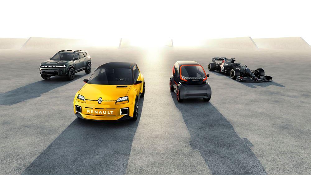 Το νέο πλάνο στρατηγικού σχεδιασμού του Groupe Renault