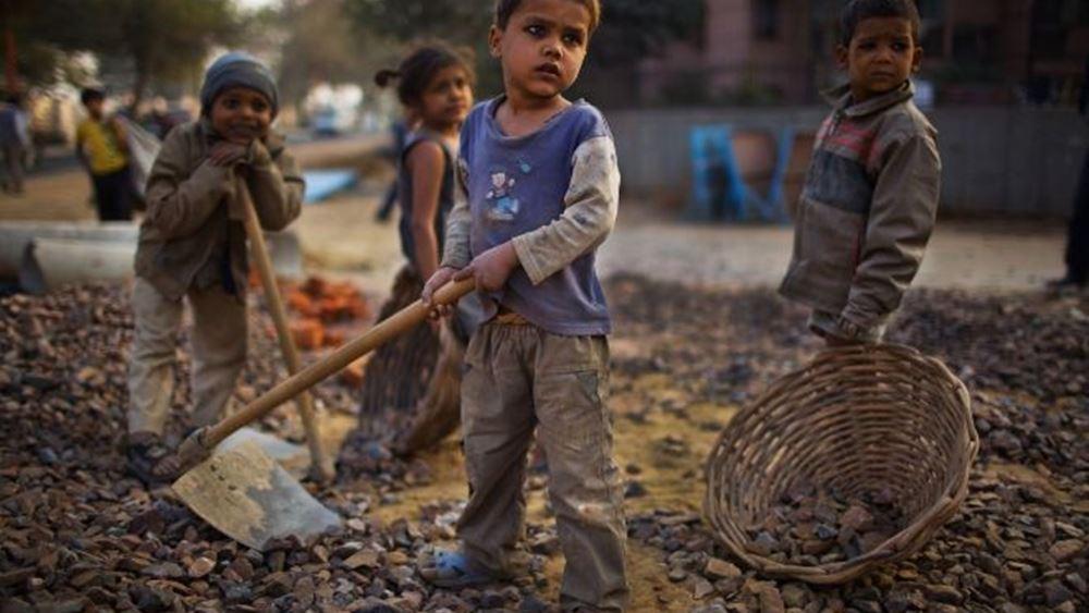 Save the Children: 415 εκατομμύρια παιδιά επηρεάζονται από τον πόλεμο και τη βία