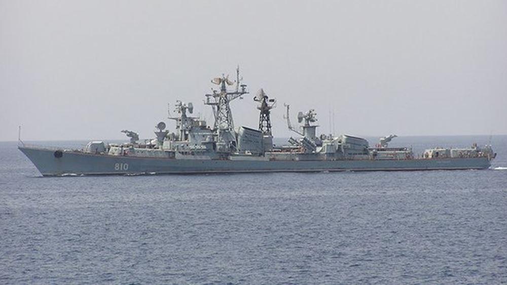 Ρωσικά ναυτικά γυμνάσια στις αρχές Σεπτεμβρίου στη Μεσόγειο