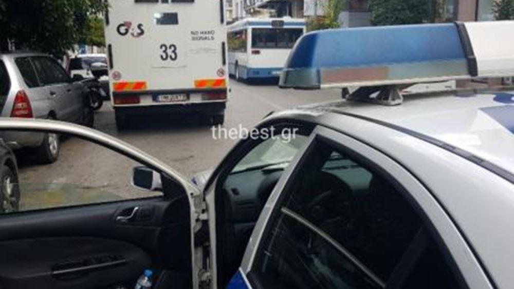 Πάτρα: Εξερράγη βαλίτσα χρηματαποστολής, τραυματίστηκε υπάλληλος