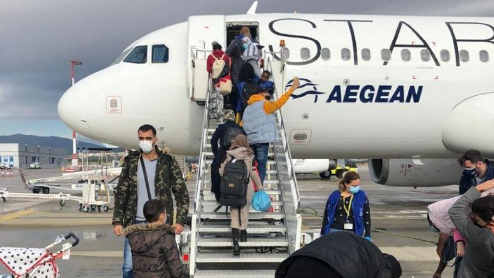 Συνεχίζονται οι μετεγκαταστάσεις προσφύγων προς τη Γερμανία