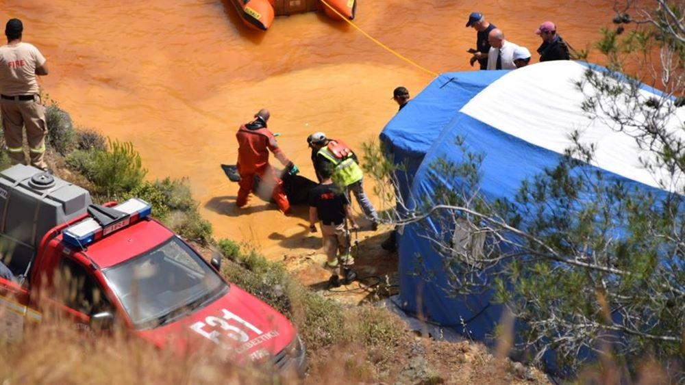 Κύπρος: Πτώμα γυναίκας βρέθηκε σε βαλίτσα που ανασύρθηκε από τη λίμνη της φρίκης