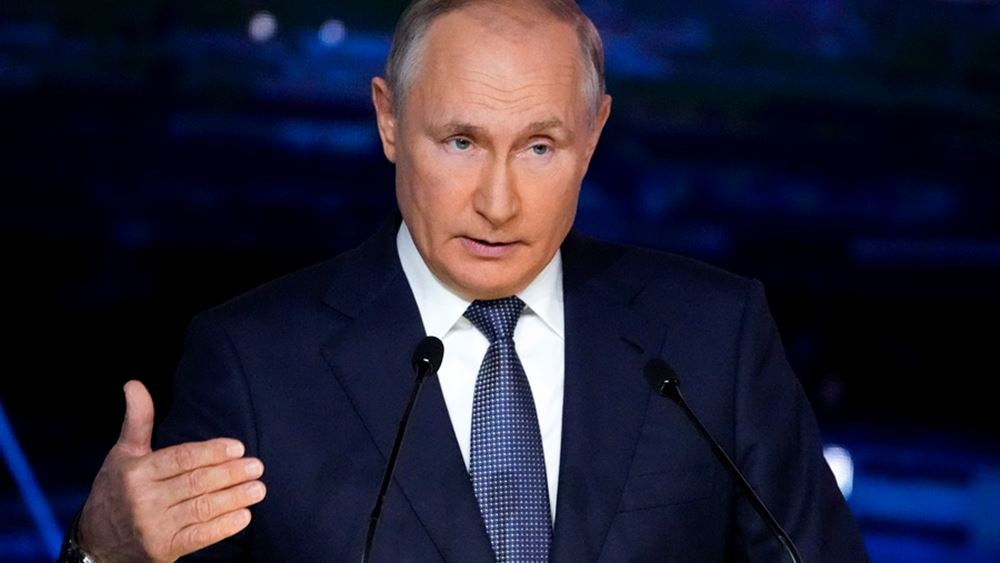 Ρωσία: Ο Πούτιν επέκρινε την ανάμιξη ξένων δυνάμεων στη Συρία