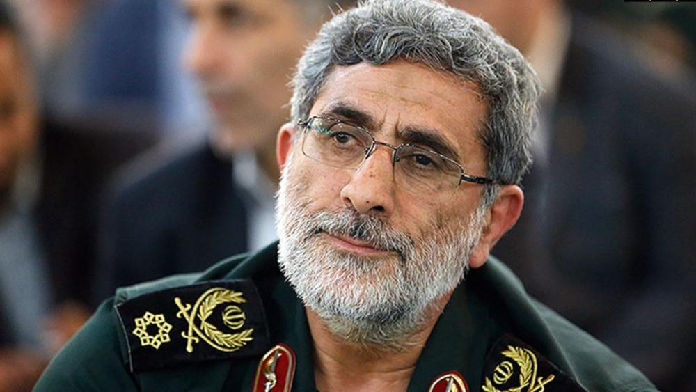 """Ισμαΐλ Καανί: Ο διάδοχος του Σουλεϊμανί περιμένει """"πολλά πτώματα Αμερικανών στη Μέση Ανατολή"""""""