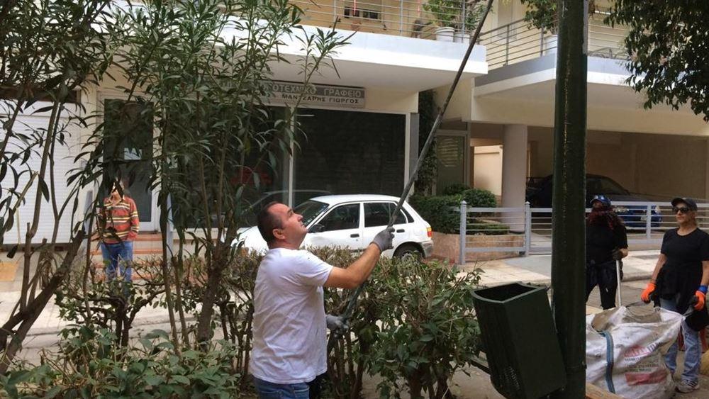 Κ. Μπακογιάννης: Παρεμβάσεις καθαριότητας, πράσινου και ηλεκτροφωτισμού στα Κάτω Πετράλωνα