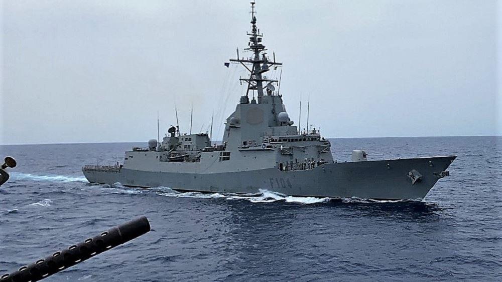 Συνεκπαίδευση της φρεγάτας «Έλλη» και ελληνικών μαχητικών με ναυτική δύναμη του ΝΑΤΟ