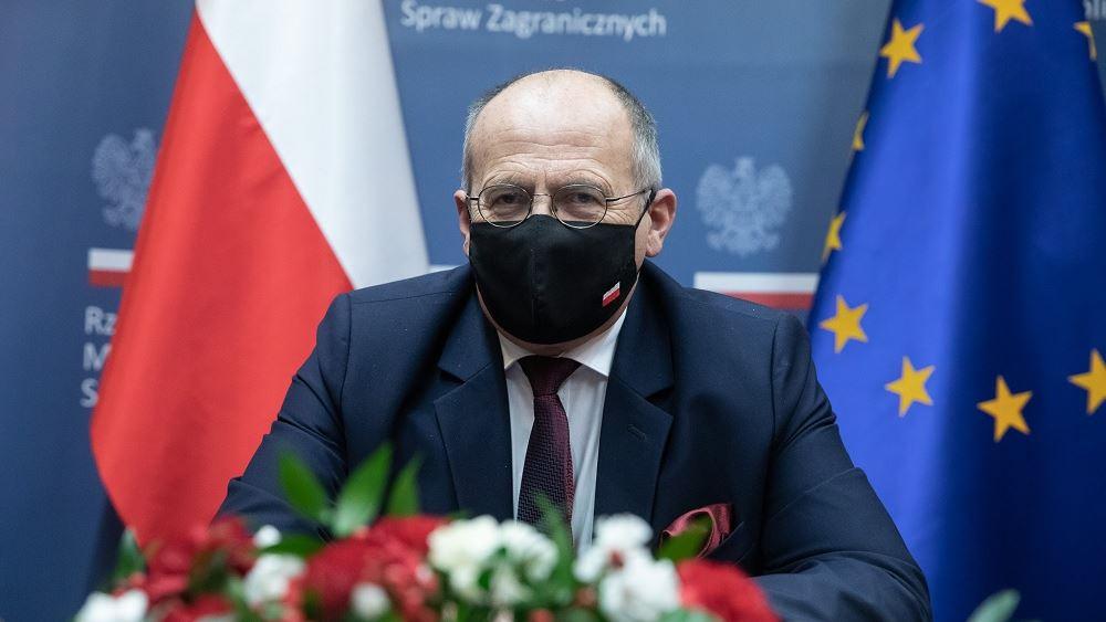 Η Πολωνία υποστηρίζει ότι το βέτο αποσκοπεί στην προστασία της ΕΕ από την παραβίαση των Συνθηκών