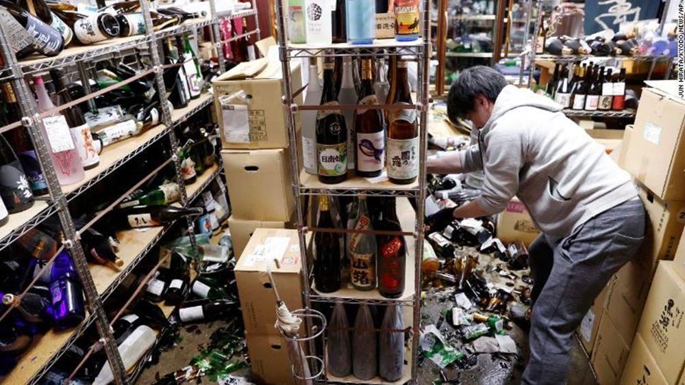 Ιαπωνία: Τουλάχιστον 100 τραυματίες από τον ισχυρό σεισμό