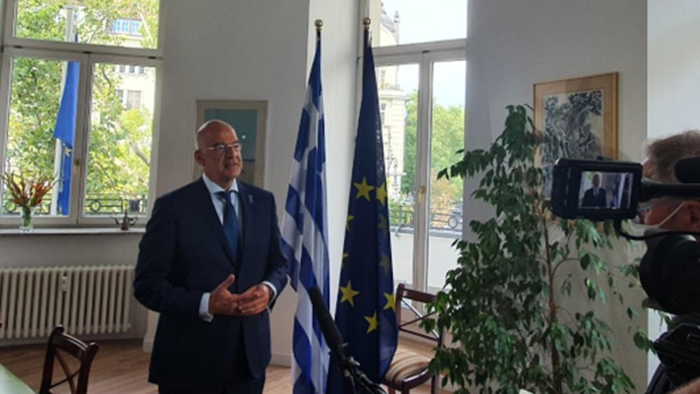 Ν. Δένδιας: Κερδίσαμε την ομόθυμη συμπαράσταση των εταίρων μας - Κυρώσεις αν η Τουρκία δεν αποκλιμακώσει