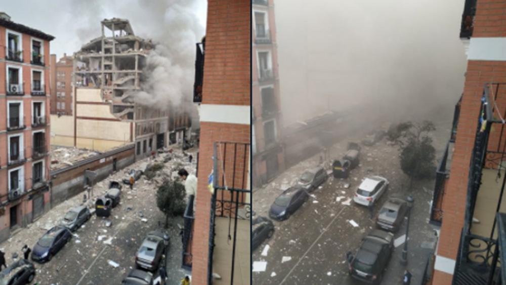 Ισχυρή έκρηξη στο κέντρο της Μαδρίτης: Τουλάχιστον τρεις νεκροί και έξι τραυματίες