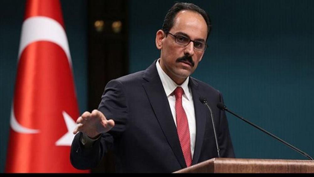 Εκπρόσωπος Ερντογάν: Για εσωτερική κατανάλωση στις ΗΠΑ οι κυρώσεις