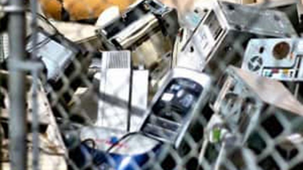 Τους 57,4 εκατ. τόνους θα φθάσουν τα παγκόσμια ηλεκτρονικά και ηλεκτρικά απόβλητα το 2021