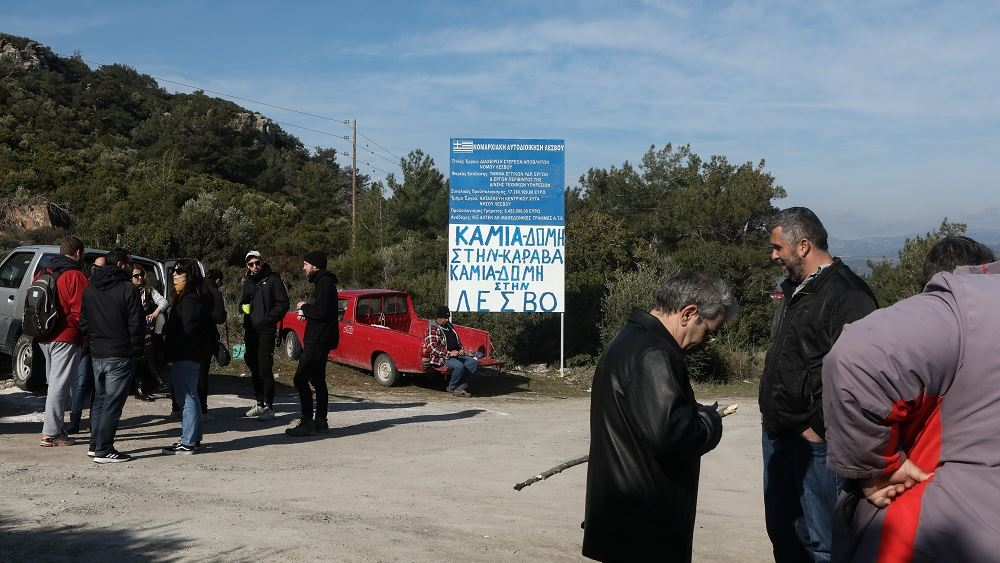 Μεγάλη πορεία στη Μυτιλήνη για τα επεισόδια με τα ΜΑΤ και την κατάσταση στα νησιά