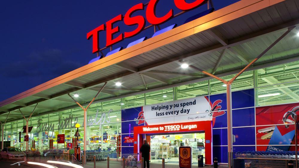 Tesco: Αυξήθηκαν 7,9% οι συγκρίσιμες πωλήσεις στο α΄ τρίμηνο χρήσης