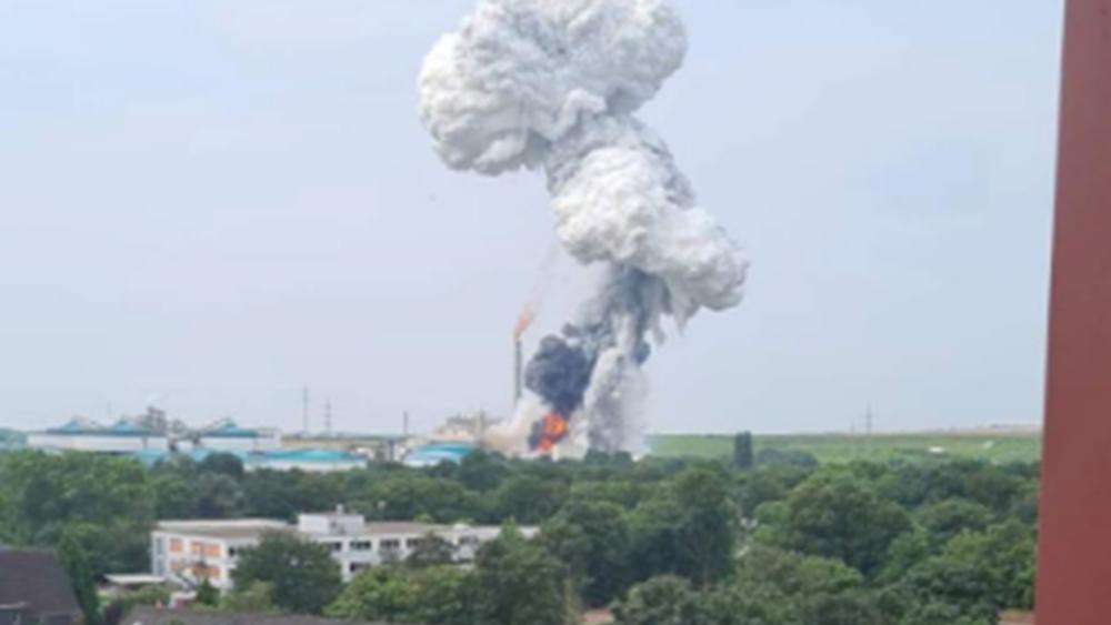 Γερμανία: Ένας νεκρός, 16 τραυματίες και τέσσερις αγνοούμενοι από έκρηξη σε εργοστάσιο απορριμμάτων στο Λεβερκούζεν