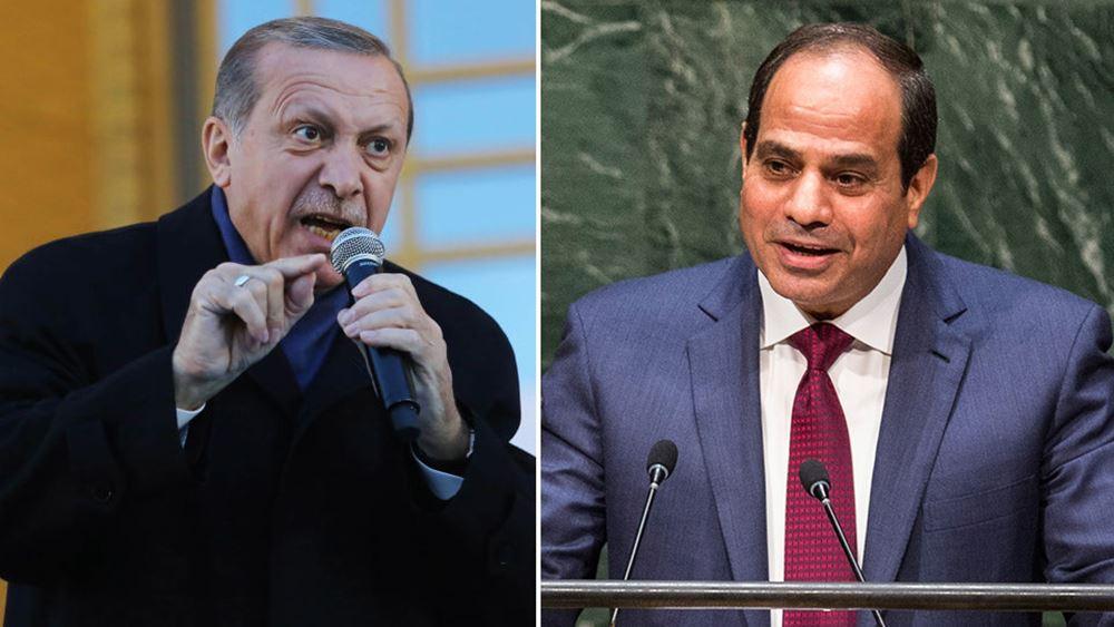 """Τουρκική απόπειρα προσέγγισης με Αίγυπτο: """"Δώρο"""" Ερντογάν σε αλ Σίσι"""