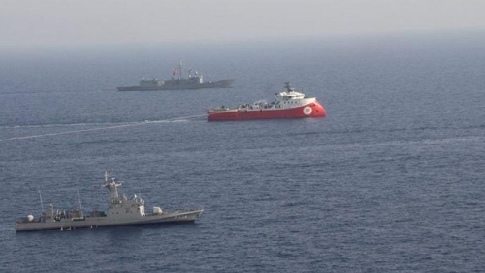 """Εκπρόσωπος γερμανικού ΥΠΕΞ: """"Λάθος μήνυμα"""" η ανακοίνωση της Τουρκίας για γεωτρήσεις στην Κύπρο"""