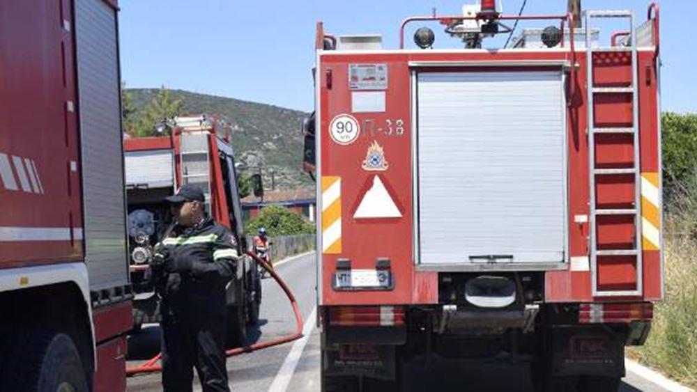 Υψηλός κίνδυνος πυρκαγιάς για την Αττική