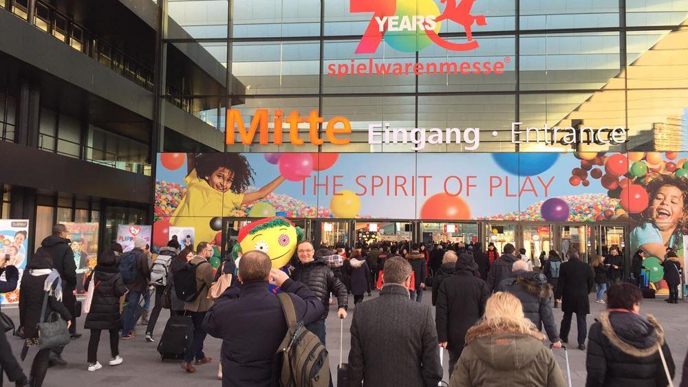 Ελληνογερμανικό Επιμελητήριο: Ρεκόρ συμμετοχής Ελλήνων και Κύπριων στη Διεθνή Έκθεση Παιχνιδιού, Spielwarenmesse