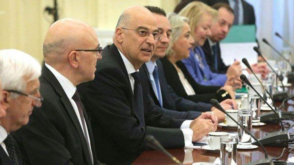Σύγκληση του Συμβούλιο Εξωτερικής Πολιτικής στις 19/3 για τα ελληνοτουρκικά