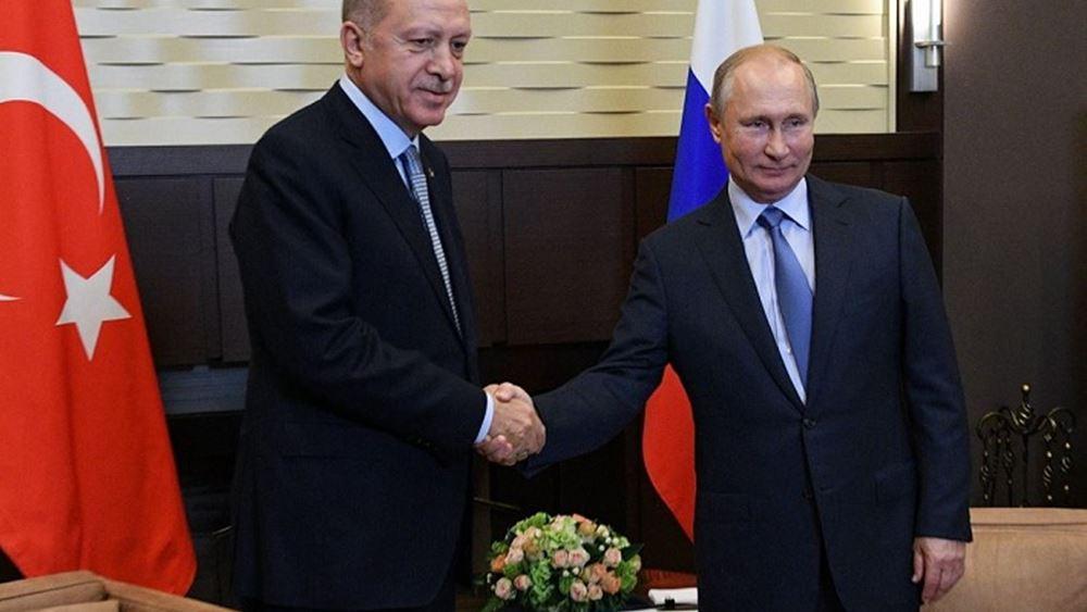 """Συμφωνία """"αλά F-35"""" εξετάζουν Πούτιν-Ερντογάν: Κομμάτια των Su-35 ίσως φτιάχνονται στην Τουρκία"""