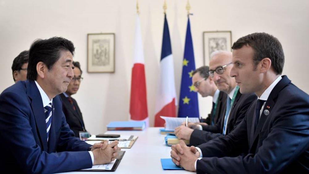 """Ο Μακρόν ζητεί """"συνέργειες και συμμαχίες"""" για να ενισχυθεί η σχέση Renault-Nissan"""
