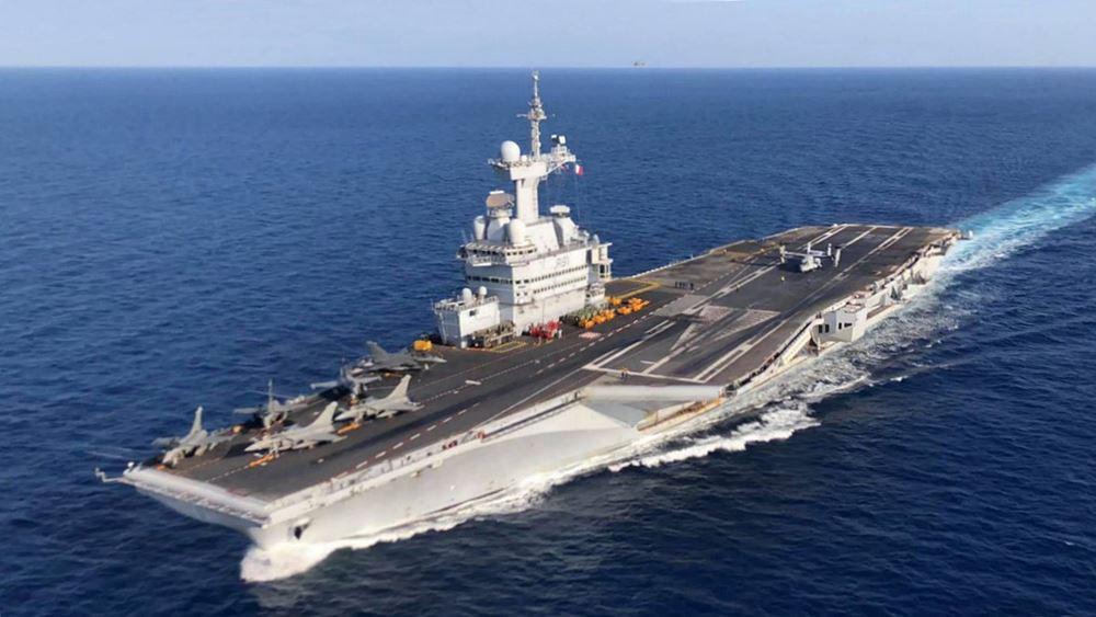 Γαλλία: Ευθύνες στη διοίκηση του αεροπλανοφόρου Σαρλ ντε Γκωλ για τα κρούσματα κορονοϊού επιρρίπτει η υπουργός Άμυνας
