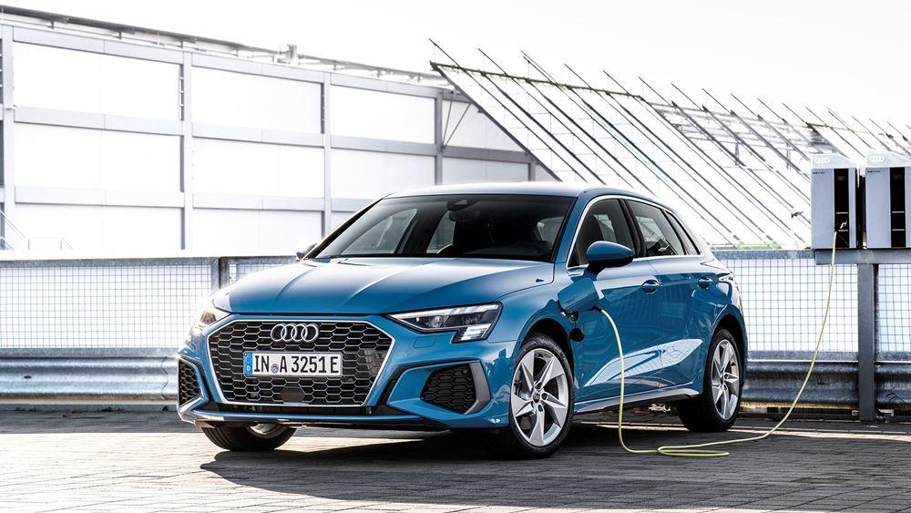 Το plug-in υβριδικό Audi A3 Sportback 40 TFSI e στην Ελλάδα