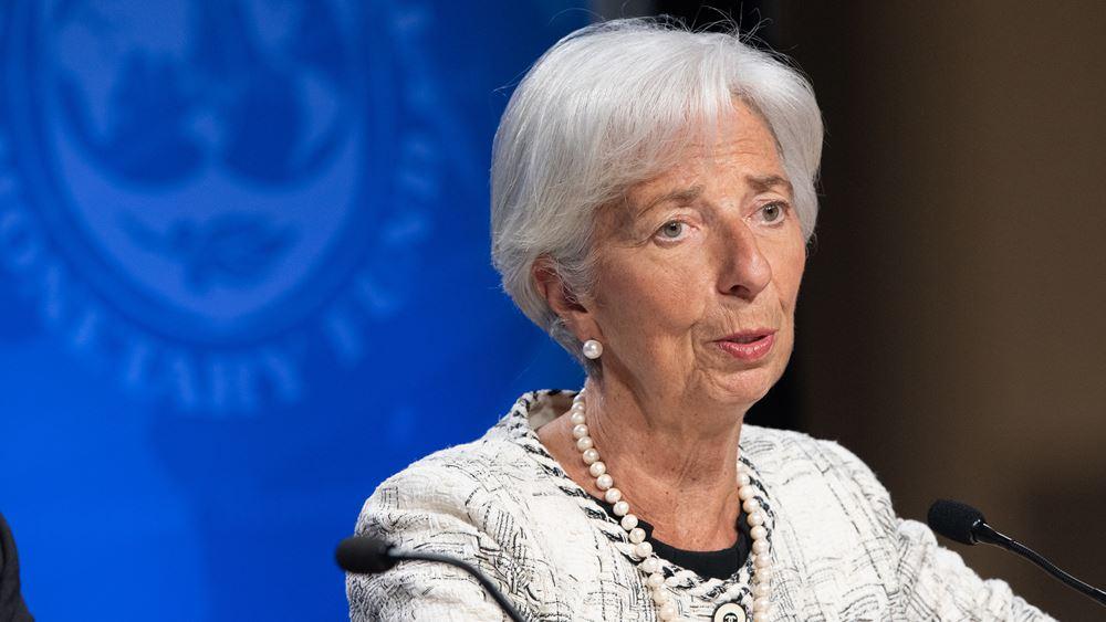 Lagarde: Η Ευρωζώνη πρέπει να τονώσει την εσωτερική ζήτηση