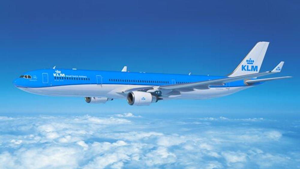 Η KLM ακύρωσε 56 πτήσεις λόγω της στάσης εργασίας του προσωπικού εδάφους