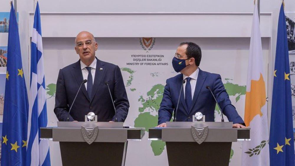 Ν. Δένδιας: «Η τουρκική επιθετικότητα δεν μπορεί να μείνει αναπάντητη'
