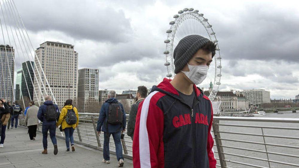 Βρετανία: 204 νεκροί από κορονοϊό το τελευταίο 24ωρο- 40.465 στο σύνολο