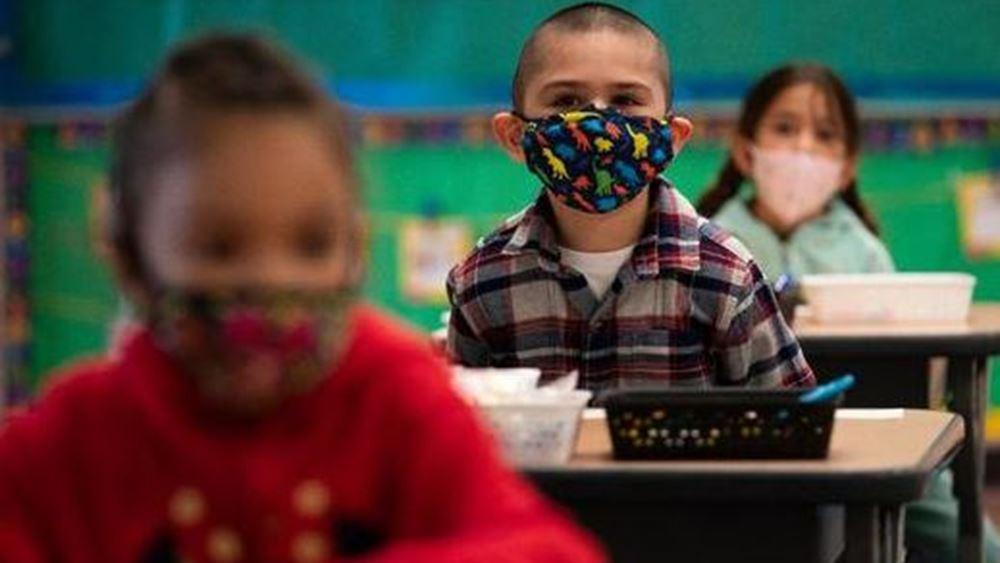 ΗΠΑ: Αναθερμαίνεται η συζήτηση για τις μάσκες στα σχολεία