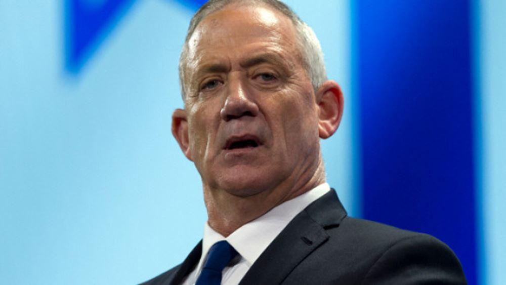 Ισραήλ: Ο Γκαντς δηλώνει πως θέλει να αναλάβει την πρωθυπουργία σε κυβέρνηση εθνικής ενότητας